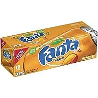 Fanta Refresco con Gas, Sabor Mango - Paquete de 12 x 355 ml - Total: 4260 ml