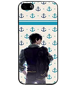 PrintDhaba Dashing Boy D-5852 Back Case Cover for APPLE IPHONE 5S (Multi-Coloured)