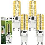 Pack de 4 Bombillas LED regulables de 7W casquillo G9 marca MENGS®