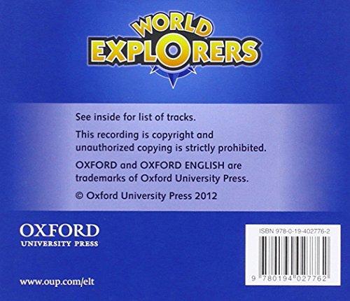 World Explorers: Level 2: Class Audio CDs