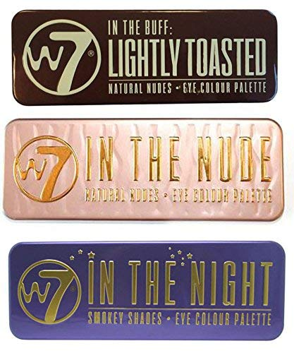 W7 (W7 In The Nude+Night+Toasted)