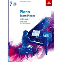 Piano Exam Pieces 2017 & 2018: Selected from the 2017 & 2018 Syllabus (ABRSM Exam Pieces)