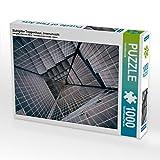 Stahlgitter Treppenhaus, Innenansicht 1000 Teile Puzzle Quer