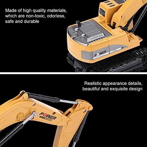 RC Auto kaufen Kettenfahrzeug Bild 2: Fernbedienung Bagger, 2,4 GHz 6 Kanäle Fernbedienung Bagger LKW 1/24 RC Engineering Auto Baufahrzeug Spielzeug Geschenk für Kinder*