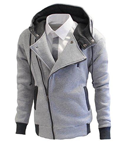 Garcia Pescara Designer Sweatjacke Grau