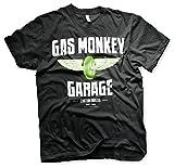 Officially Licensed Merchandise Gas Monkey Garage - Speed Wheels T-Shirt (Black), Medium