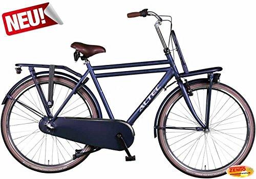 Hooptec Dutch Herren Hollandrad Jeansblau 3 Gang 58 cm mit Frontträger