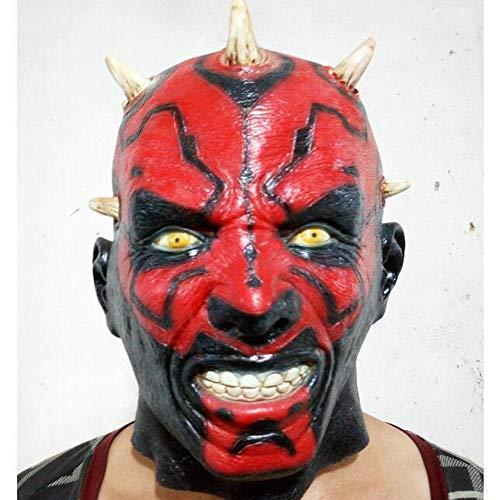 Star Kostüm Sammler Wars - Noble Halloween Horror Kopfbedeckung Cosplay Star Wars Das Moore Latex Maske Teufelsmaske Party