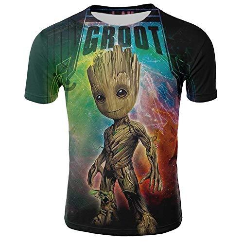 ain Shirts - Wächter Der Galaxis- I Am Groot- Unisex T-Shirt,XL,Grün ()