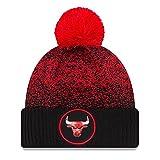 New Era Chicago Bulls NBA '17 Pom Beanie Mütze, black/red