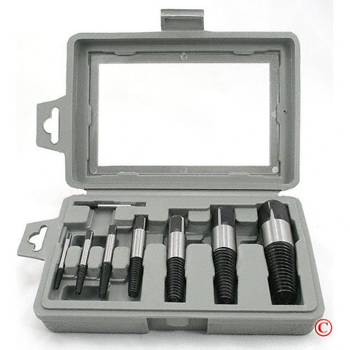 8 piece Easy Out Screw Bolt Extractor Set by ATE PRO TOOL