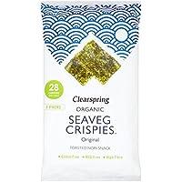 Clearspring Orgánico Original Seaveg Crispies Multipack 3 X 5 G