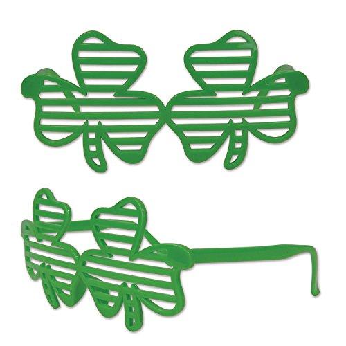 Irische Party Kleeblattbrille (Partys Patricks Day St)