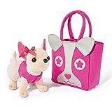 Simba 105897403 - Chi Chi Love Plüschhund 20 cm mit Felltasche