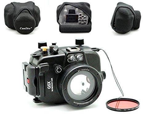 camdiver-40-m-plongee-sous-marine-boitier-pour-appareil-photo-g5-x-livre-avec-camdiver-filtre-de-plo