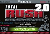 Weider Total Rush 2.0, Lemon-Lime, 1er Pack (1 x 375 g)