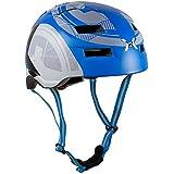 AWE® X-Fire™ Ciclismo Skate BMX casco azul 55-58cm