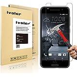 HTC One A9 Protection écran, iVoler® Film Protection d'écran en Verre Trempé Glass Screen Protector Vitre Tempered pour HTC One A9- Dureté 9H, Ultra-mince 0.20 mm, 2.5D Bords Arrondis- Anti-rayure, Anti-traces de doigts,Haute-réponse, Haute transparence- Garantie de Remplacement de 18 Mois