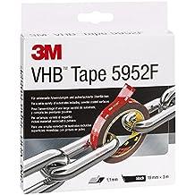 3M VHB 5952F doppelseitiges Hochleistungsklebeband, 19 mm x 3 m, schwarz 5952193
