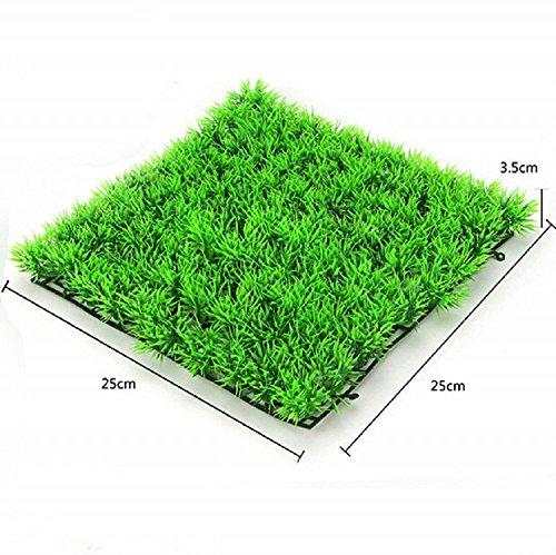K&C acqua verde tappeto erboso artificiale erba paesaggio acquario acquatico acquario piante acquatiche di arti
