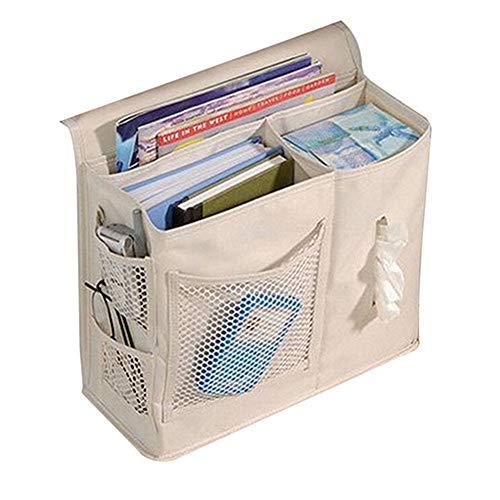 Lankater Bettseiten-Speicher-Organisator Speicher Mesh-Matratze Buch Hängend Fern Organizer Caddy Tasche -