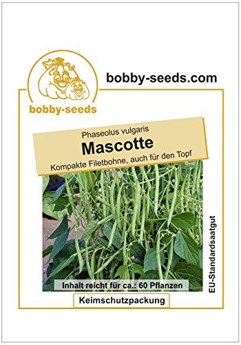 Bobby-Seeds Bohnen-Samen Mascotte fadenlose Buschbohne Portion