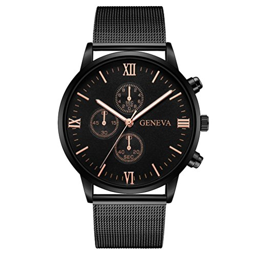 Herren Uhren 2018 Xinantime Gentleman Drei Multifunktions Whirlpool Uhr Retro Edelstahl Analog Alloy Quarz Armbanduhr Männer 13 Farben (Standard, J)