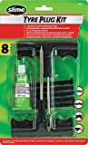Slime 20464 Tyre Plug Kit - Puncture Repair for Cars and Other Vehicles