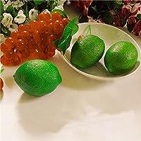 Preisvergleich für ShopSquare64 Künstliche Lemon Lime Simulation gefälschte Obst Imitation Lernen Props Home Shop Decor