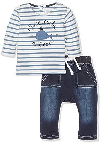 Ensemble Garcon 18 Mois - Absorba Boutique Bleu, Ensemble Bébé Garçon 0-24m,