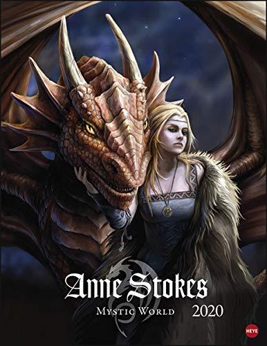 Anne Stokes Mystic World 2020 34x44cm