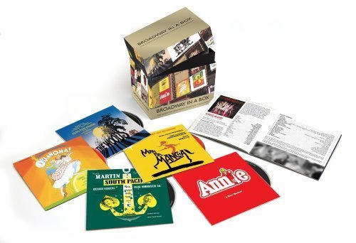 Broadway in a Box: The Essential Broadway Musicals Collection Box set Edition by Various Artists (2012) Audio CD (Musicals-box-set Broadway)