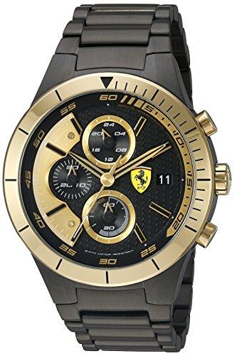 Ferrari 0830303 De los hombres Red Rev Evo Analógico Dress Cuarzo Reloj