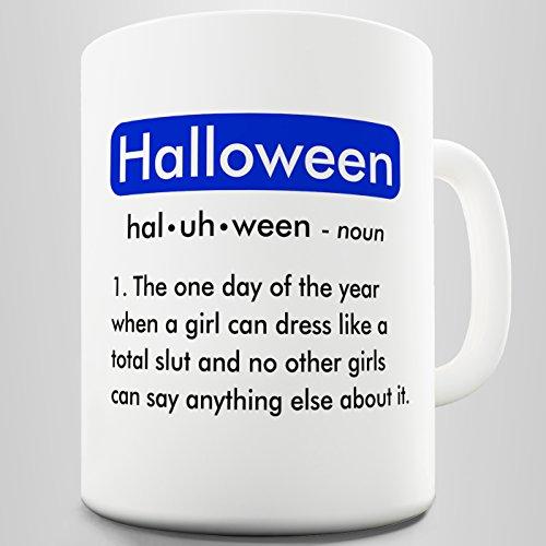 ion Tasse Funny Bedeutung Halloween Funny Büro Secret Santa Geschenk, keramik, weiß, 15 OZ (Bedeutung De Halloween)