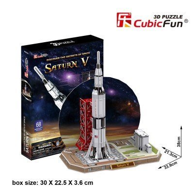 3D Puzzle - Saturn V