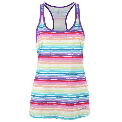 Urban Beach Damen Rainbow Beach Baby Tank Top, Regenbogenfarben, 38 (Rainbow Tank Damen Top)