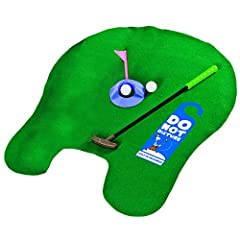 Idea Regalo - Longridge Potty Putter, Set golf da toilette
