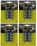 32 PTFE-Gleiter Möbelgleiter Stuhlbeingleiter Bodenschutz Antikratz Parkettgleiter mit Nagel
