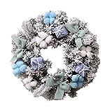"""Kransen 20"""" Christmas Garland PE Simulatie Sneeuw en Pine Takken Voordeur De Kroon Kunstmatige Opknoping Wreath Ideaal Winter Decorating for binnen- en buitengebruik slingers"""
