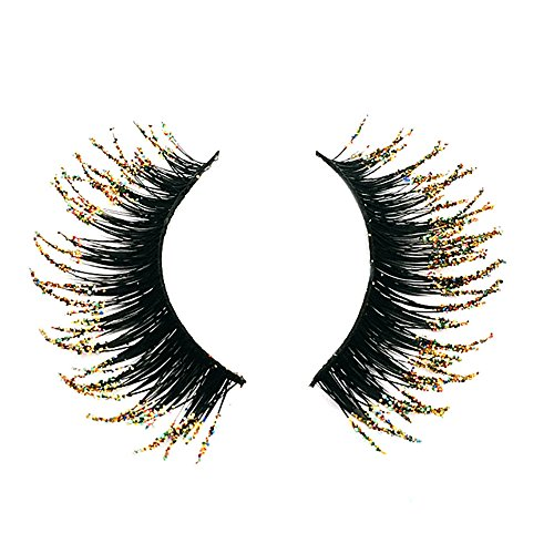 Falsche Wimpern 3 Pair Luxury 3D False Lashes Fluffy Strip Eyelashes Long Natural Party...