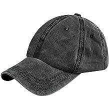 Unisex Fashion Jeans Baseball Cap Mütze Kappe Hut Sonnenhut Baseball Hip  Hop Cap Sommerhut für Damen 1e4f8c324c