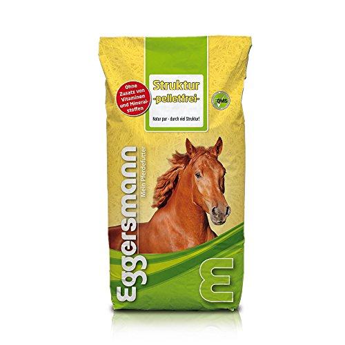 Futter für jedes Pferd, Eggersmann Pferdefutter Struktur Müsli pelletfrei, 1er Pack (1 x 15 kg)