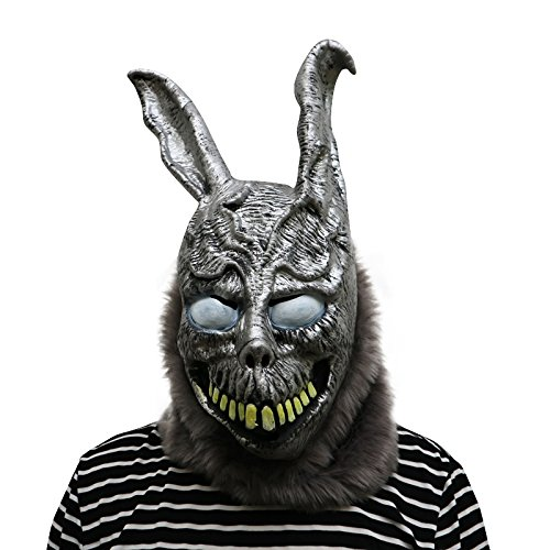 Donnie Darko Frank The Rabbit Maske - perfekt für Fasching, Karneval & Halloween - Kostüm für Erwachsene - Latex, Unisex ()