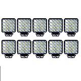 10X16 LED 48W LED Arbeitsscheinwerfer Scheinwerfer Offroad Flutlicht für Je ep DE