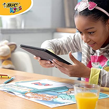 BIC 933962 – Libro interactivo de actividades para colorear