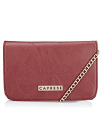Caprese Women's Sling Bag (Red) - B075T3W2C3