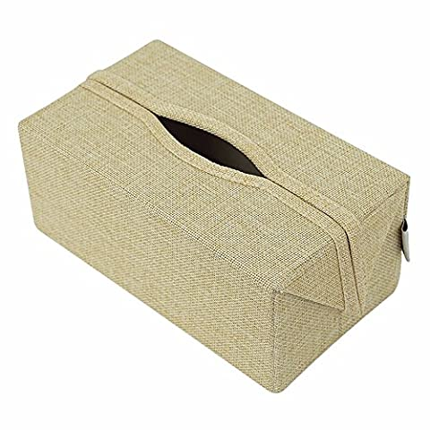 Lostryy Creative papier toilette Plateau de voiture simple Serviette Box, B