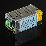 FAVOLCANO AC 110V/220V To DC 12V 1A 12W Voltage Transformer Switching Power Supply Driver For Led Strip Led Control Led Switch LED Display