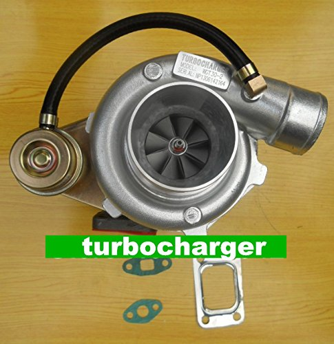 Preisvergleich Produktbild TURBOLADER GOWE für GT30 GT35 T3T4 T04E T3 Kompressor einem/r 0,60 Turbine einem/r .53 6.35 cm v-band journal turbo-Lader