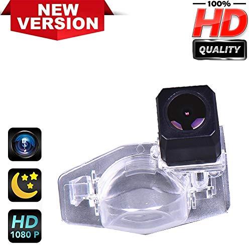 Rückfahrkamera HD1280 x 720p Rückfahrkamera für Nummernschild, Nachtsicht, IP69k, wasserdicht, für Honda CR-V CRV Fit Jazz Odyssey Accord Crosstour HRV CRZ CRX (Honda Fit Zubehör 2009)